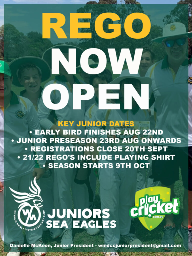 Junior Rego's now open