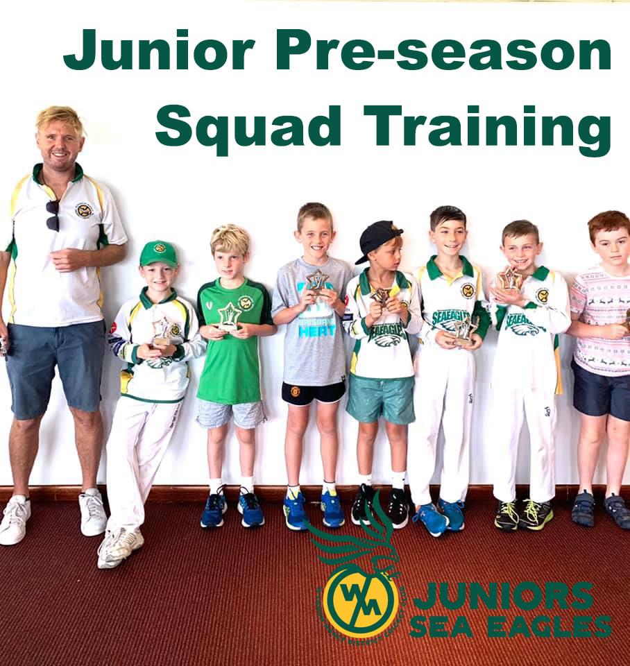Junior (Saturday comp) Pre-season